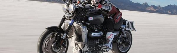 Triumph sets World Speed Record at Bonneville Salt Flats
